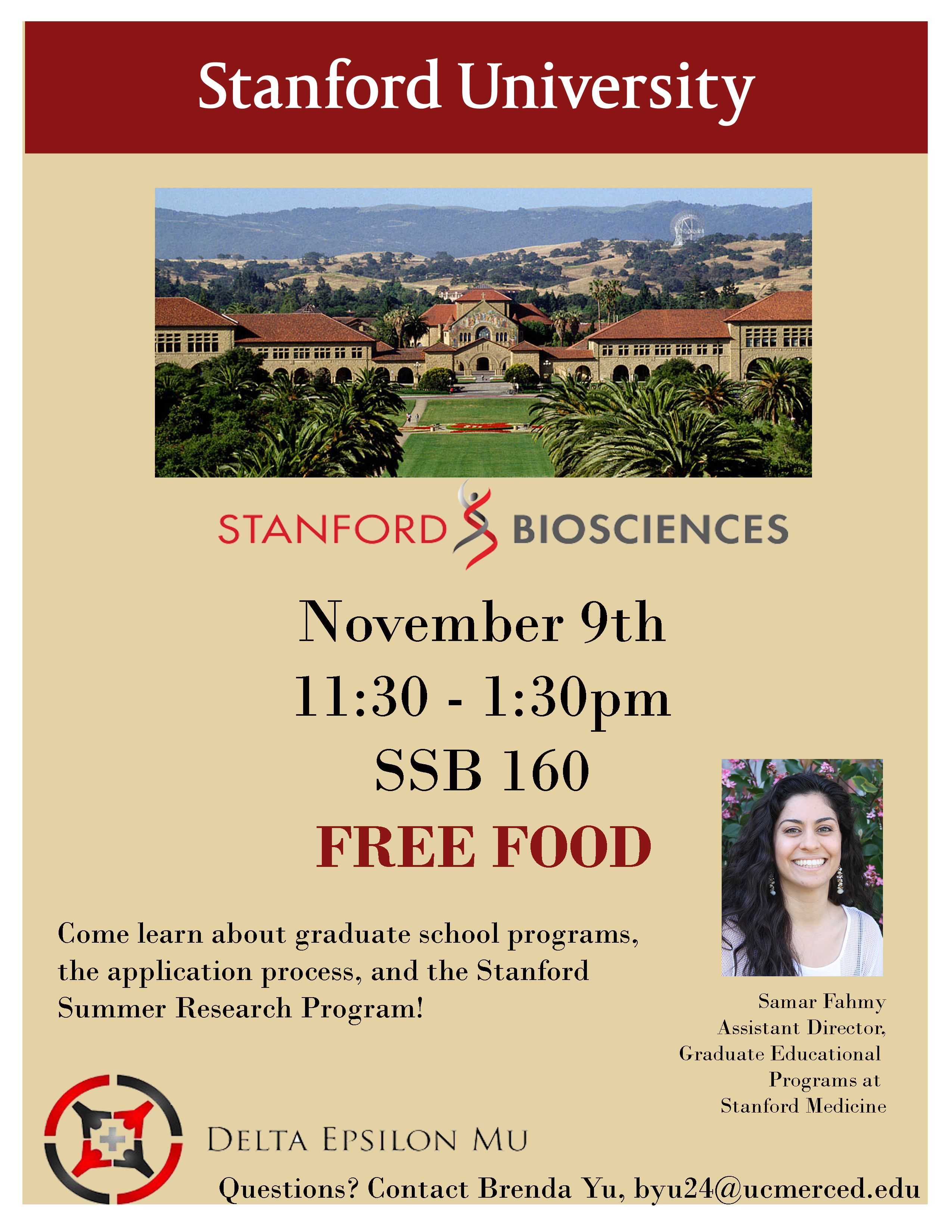 UC Merced Welcomes Stanford Biosciences for Grad School Edge with